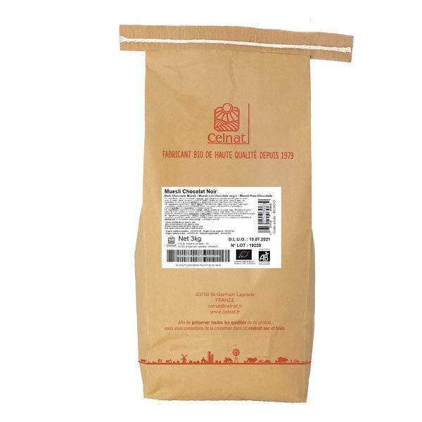 Celnat - Muesli chocolat noir 3kg