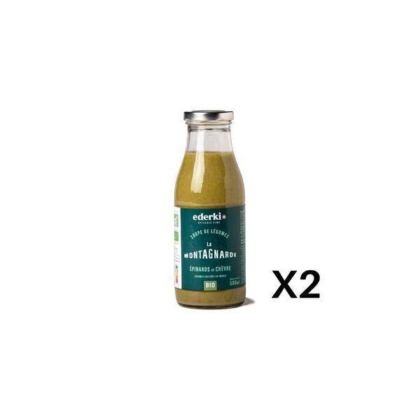 Ederki - Soupe épinard chèvre lot de 2