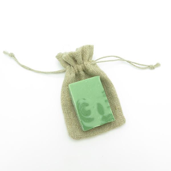 Alterosac - Pochette savon en chanvre