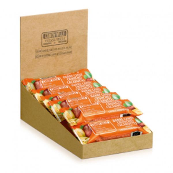 Candy Ville - Lot de 15+3 Barres Candy Crunchies Cacahuètes 50g Bio