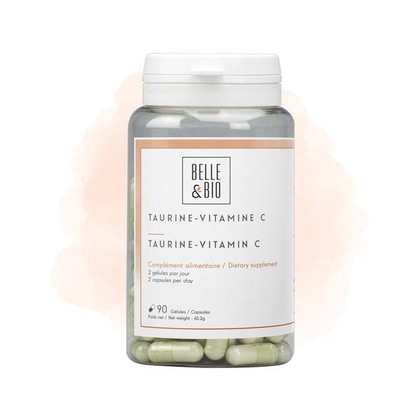 Belle & Bio - Taurine & Vitamine C - Tonus - 90 Gélules