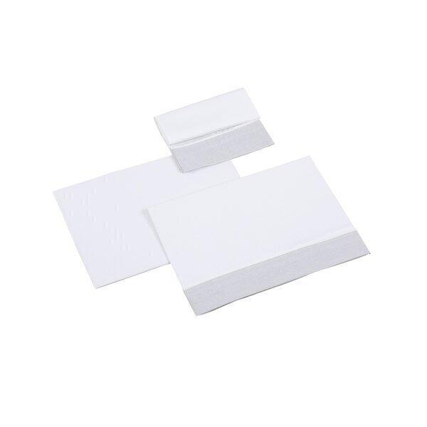 Micuna - Set de draps 3 unités 140 x 70 cm Nature gris