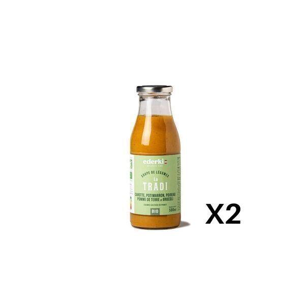 Ederki - Soupe velouté 5 légumes lot de 2