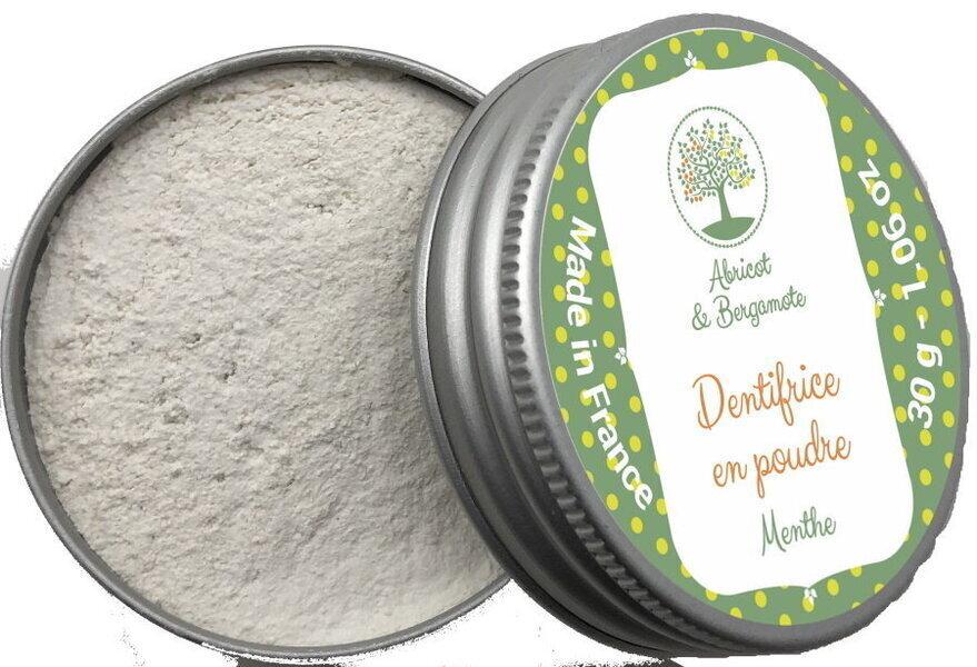 Abricot et Bergamote - Dentifrice - Menthe