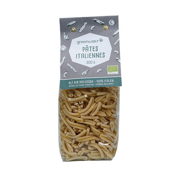Greenweez - Caserecce pâtes italiennes bio 500g