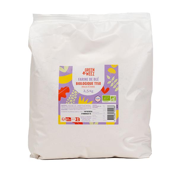 Greenweez - Farine de blé T150 Bio France 2.5kg