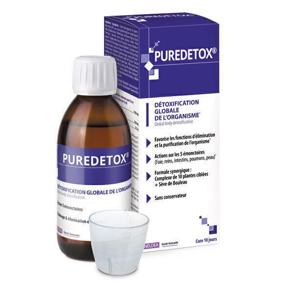 Ineldea Santé naturelle - Puredetox® Detox globale de l'organisme 250ml