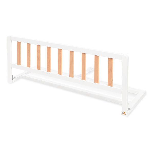 Pinolino - Barrière de lit Classic, blanc / naturel 90 cm