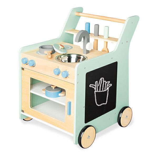Pinolino - Cuisine pour enfant Kalle, vert pastel - Dès 3 ans