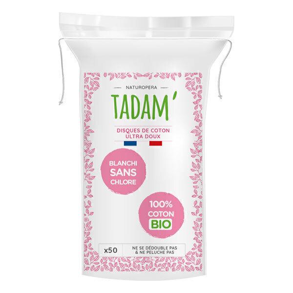 Tadam' - Disques de coton 100% bio - ovale x50