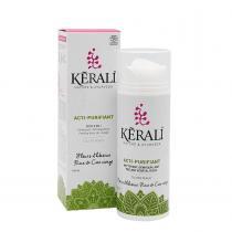 Kerali - LAIT ACTI-PURIFIANT - Soin 3 en 1 nettoie, demaquille, gomme