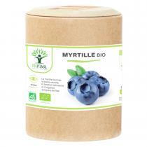 Bioptimal - Myrtille Bio - Complement alimentaire Yeux Vision - 200 Gelules