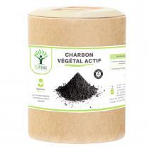 Bioptimal - Charbon Actif - Complement Alimentaire - Digestion - 200 gelules