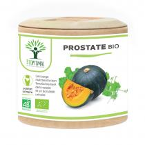 Bioptimal - Prostate Bio - Complement alimentaire Courge Ortie - 60 gelules
