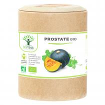 Bioptimal - Prostate Bio - Complement alimentaire Courge Ortie - 200 gelules