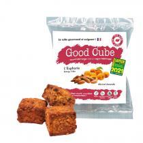 Good Cube - Biscuits bio aux abricots et amandes - L'Euphorie