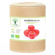 Bioptimal - Acerola Bio - Complement Alimentaire - Vitamine C - 200 gelules