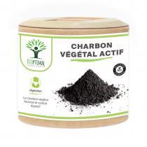 Bioptimal - Charbon Actif Ventre Plat Digestion Certifie Ecocert 60 gelules