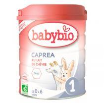Babybio - Lot de 3 Capréa 1 Lait de chèvre bio nourrissons 800g