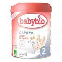 Babybio - Lot de 3 Capréa 2 Lait de chèvre infantile bio 2ème âge 800g