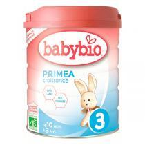 Babybio - Lot de 6 Priméa 3 lait de croissance 10 mois 800g