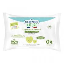 Carryboo - 45 Lingettes au liniment à l'huile d'olive bio
