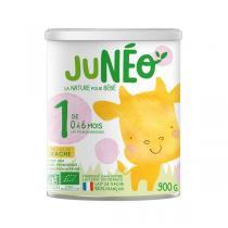 Junéo - Lot de 3 Lait pour nourrissons 1er âge 900g - De 0 à 6 moi