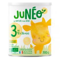 Junéo - Lot de 6 Lait de croissance 900g - De 12 à 36 mois