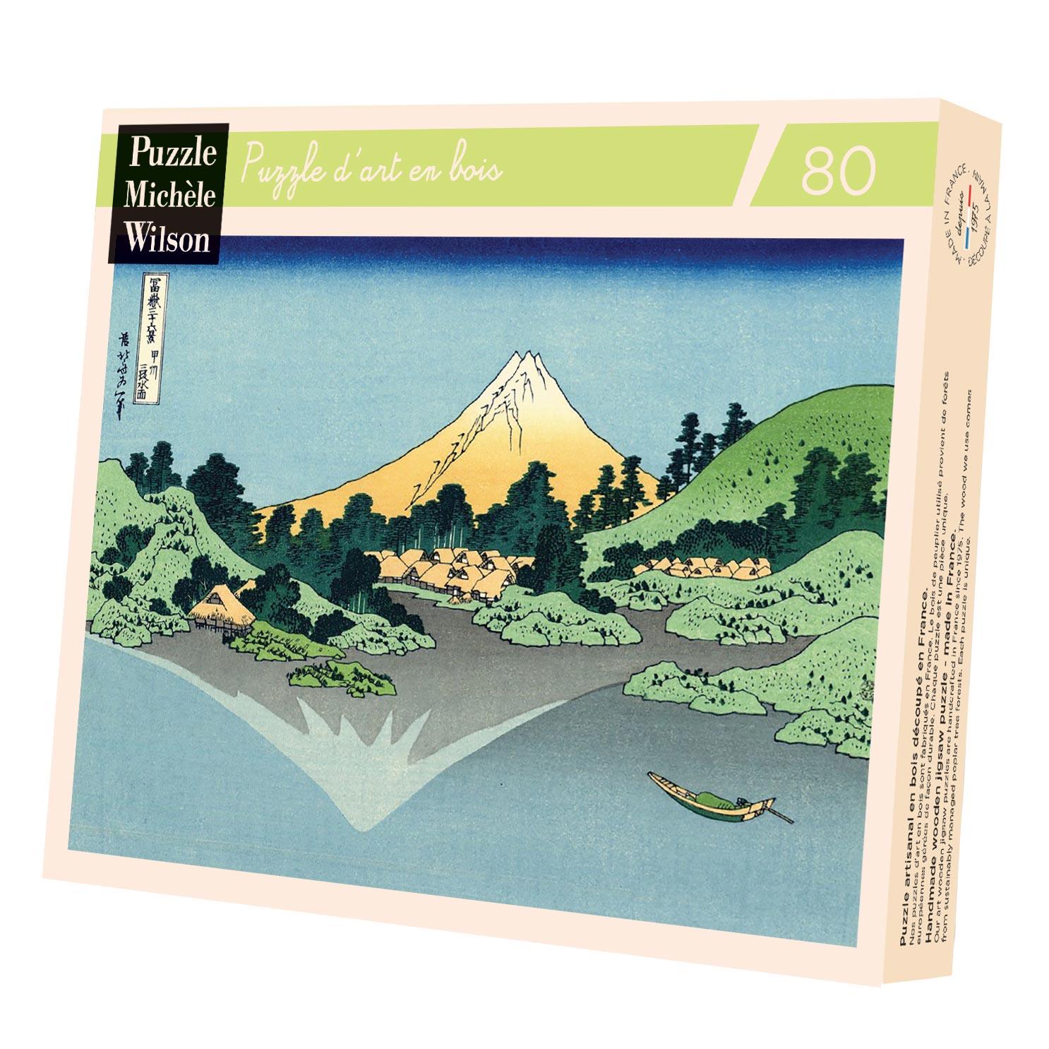 Michèle Wilson - Puzzle Michèle Wilson - Reflet Du Mont Fuji 80 Pièces