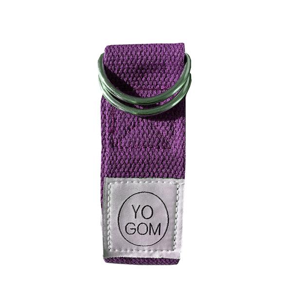 Yogom - Sangle d'etirements violette