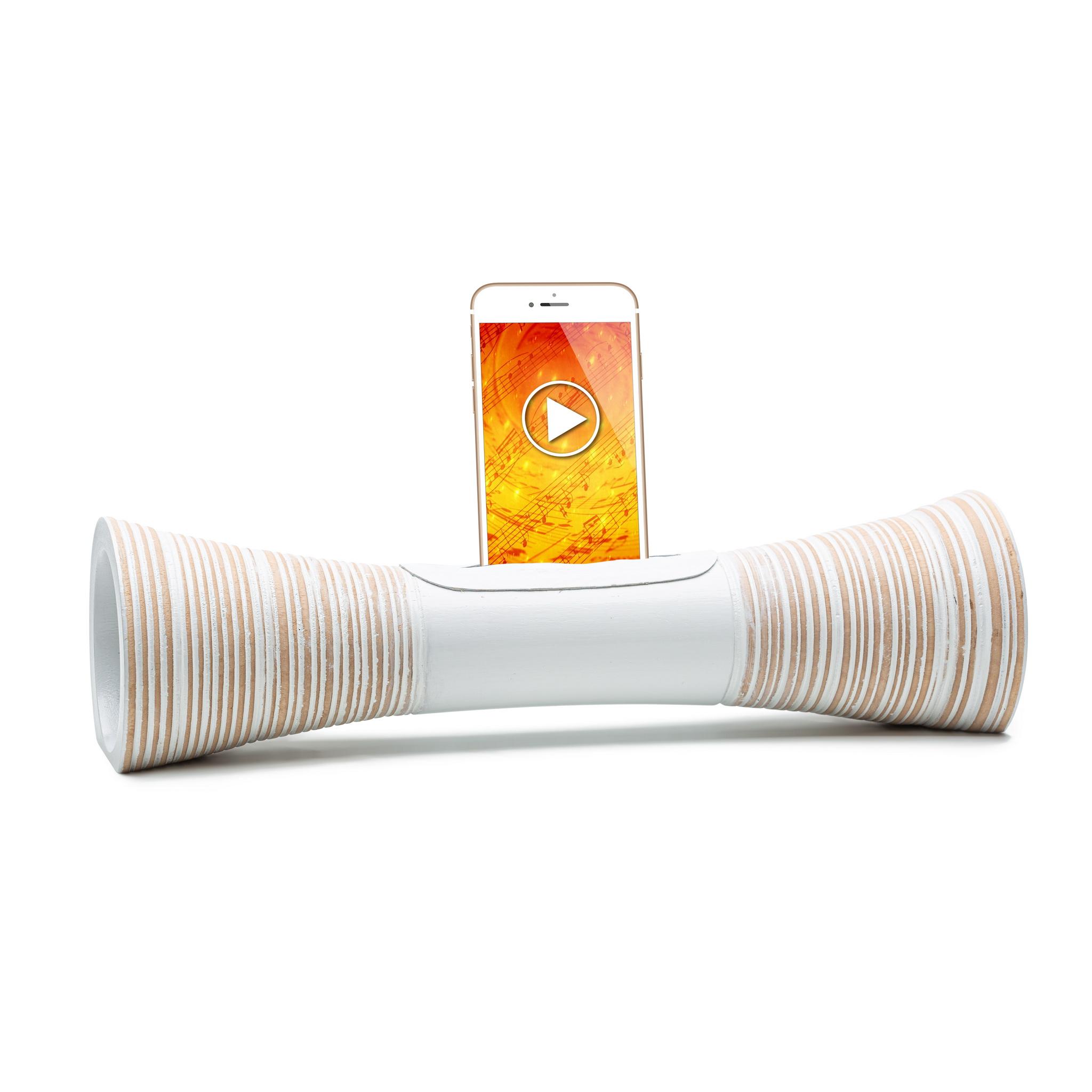 Mangobeat - MANGOBEAT - Enceinte en Bois pour telephone - Amplificateur son