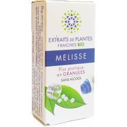 Kosmeo B - MELISSE Teinture Mère de plantes fraîches Granules 0% ALCOOL