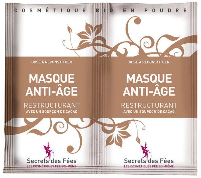 Éco-conseils - Masque anti-age restructurant