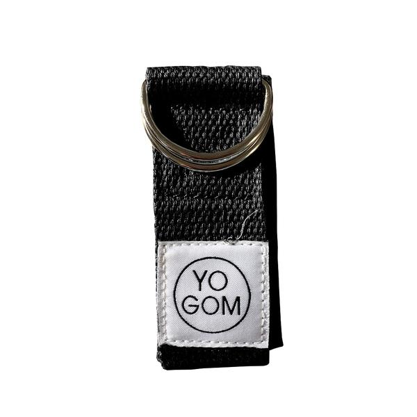 Yogom - Sangle d'etirements noire