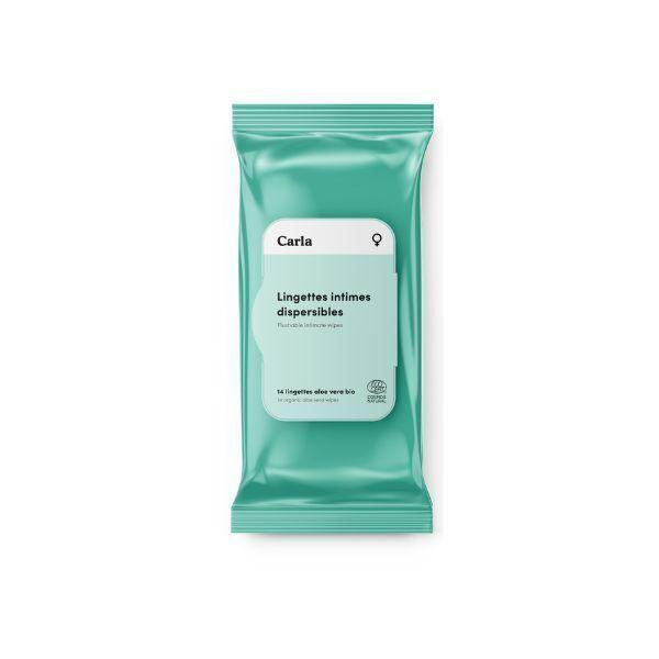 L'Essuie-Fraise - L'Essuie-Abricot - Paquet de 14 lingettes intimes pour femme