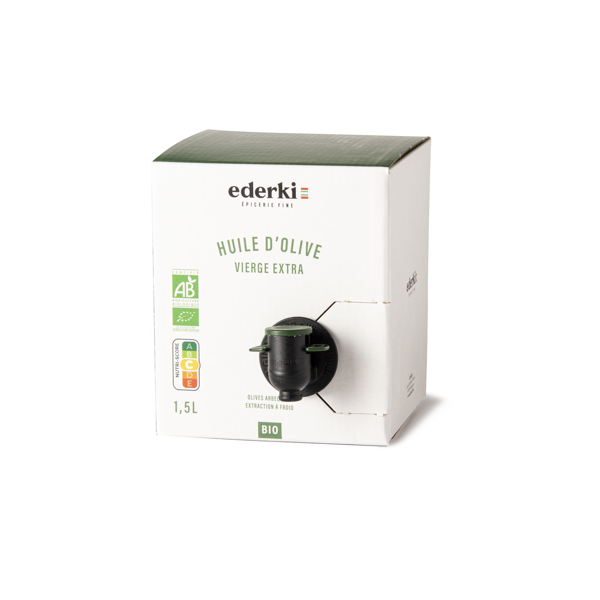 Ederki - Huile d'olive vierge extra bio - 1,5L