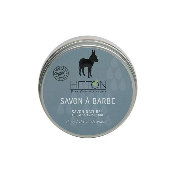 Hitton - Savon à barbe au lait d'ânesse bio