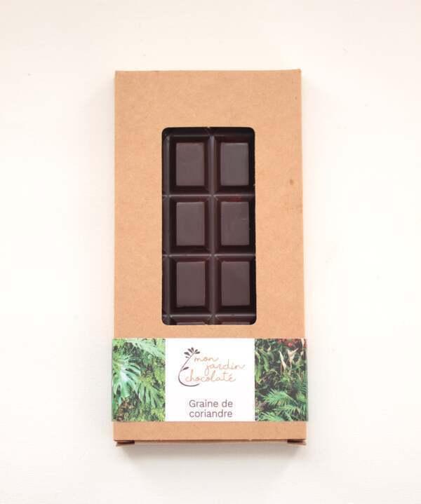 Mon Jardin Chocolaté - Ma tablette bio Graines de coriandre