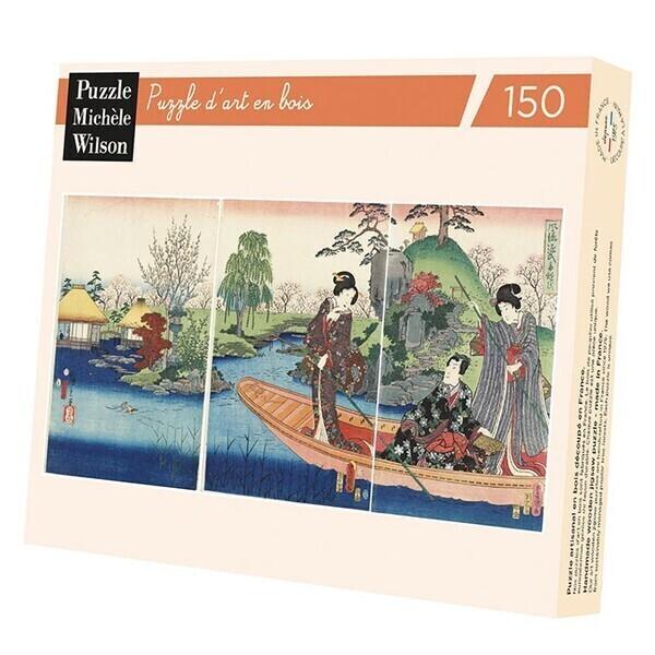 Michèle Wilson - Puzzle Michèle Wilson - La Barque 150 Pièces