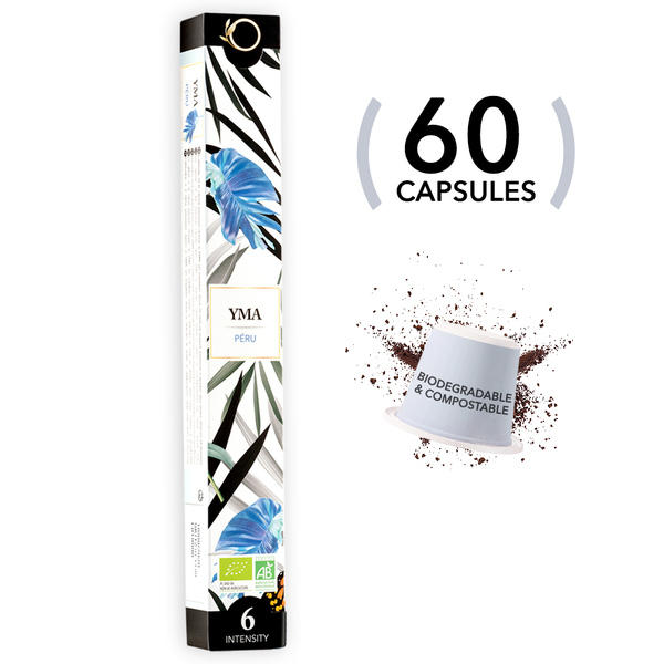 Origeens - 60 capsules YMA - Perou - Bio