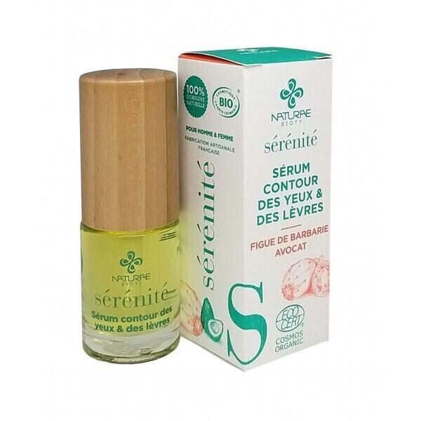 Naturae Bioty - Contour des yeux et lèvres SERENITE-Tous types de peaux-15 ml