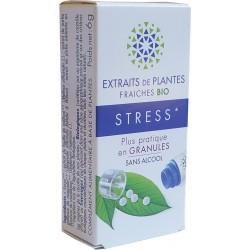 Kosmeo B - STRESS Teinture Mère Plantes Fraîches Granules 0% ALCOOL