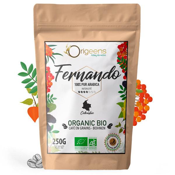 Origeens - Fernando - 4/7 - Colombie - Cafe 250g