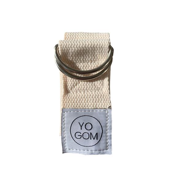 Yogom - Sangle d'etirements ecrue