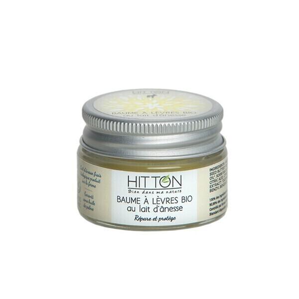 Hitton - Baume à lèvres bio au lait d'ânesse