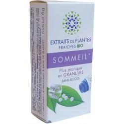 Kosmeo B - SOMMEIL Teinture Mère plantes fraîches Granules 0% ALCOOL