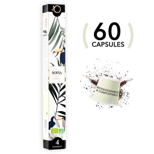 Origeens - 60 capsules SOFIA - Decafeine - Bio