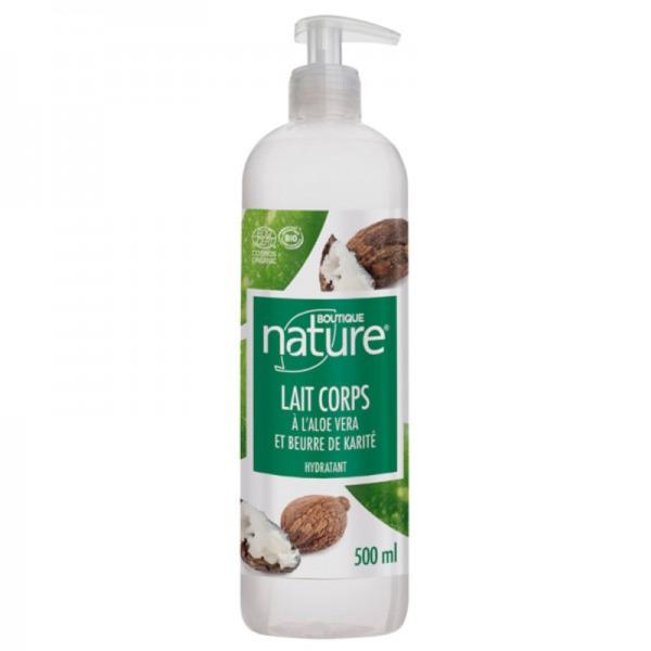 Boutique Nature - Lait corps bio au beurre de karite lait hydratant bio