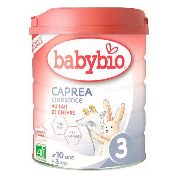 Babybio - Lot de 3 Capréa 3 Lait de chèvre infantile bio 3ème âge 80