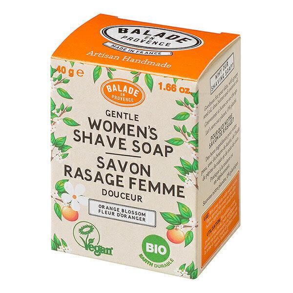 Balade en Provence - Savon de rasage pour femme Fleur d'oranger 40g